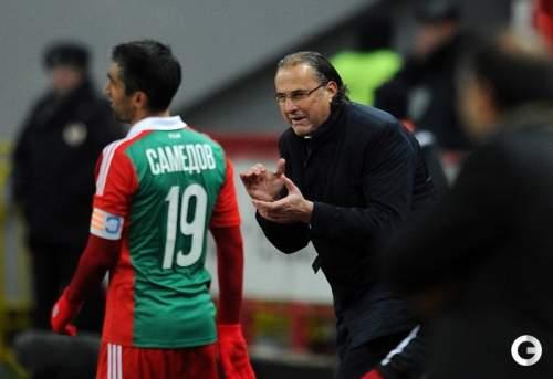 Божович начал спобеды в«Локомотиве»